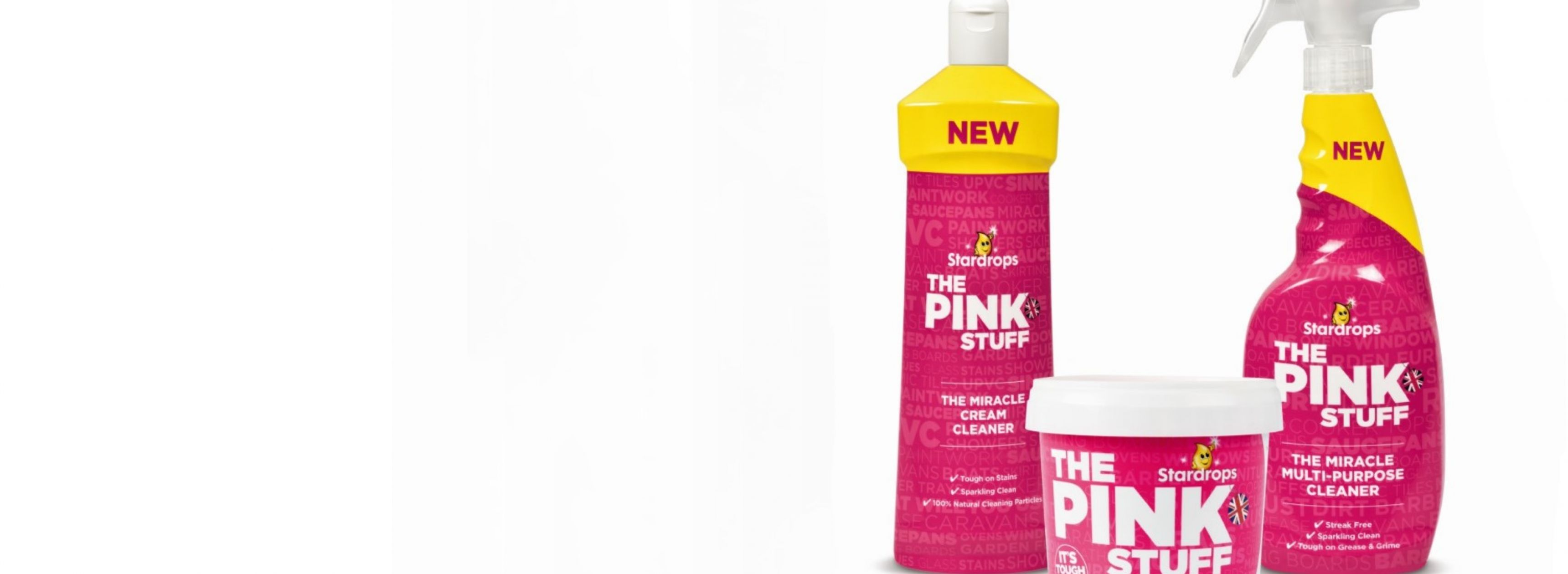 Star brands The Pink Stuff
